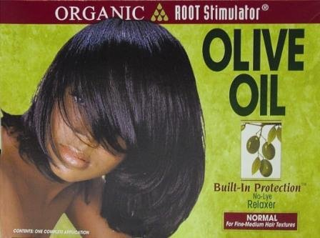 Organic Root Stimulator Olive Oil Relaxer Normal (12 Pack) by DDI