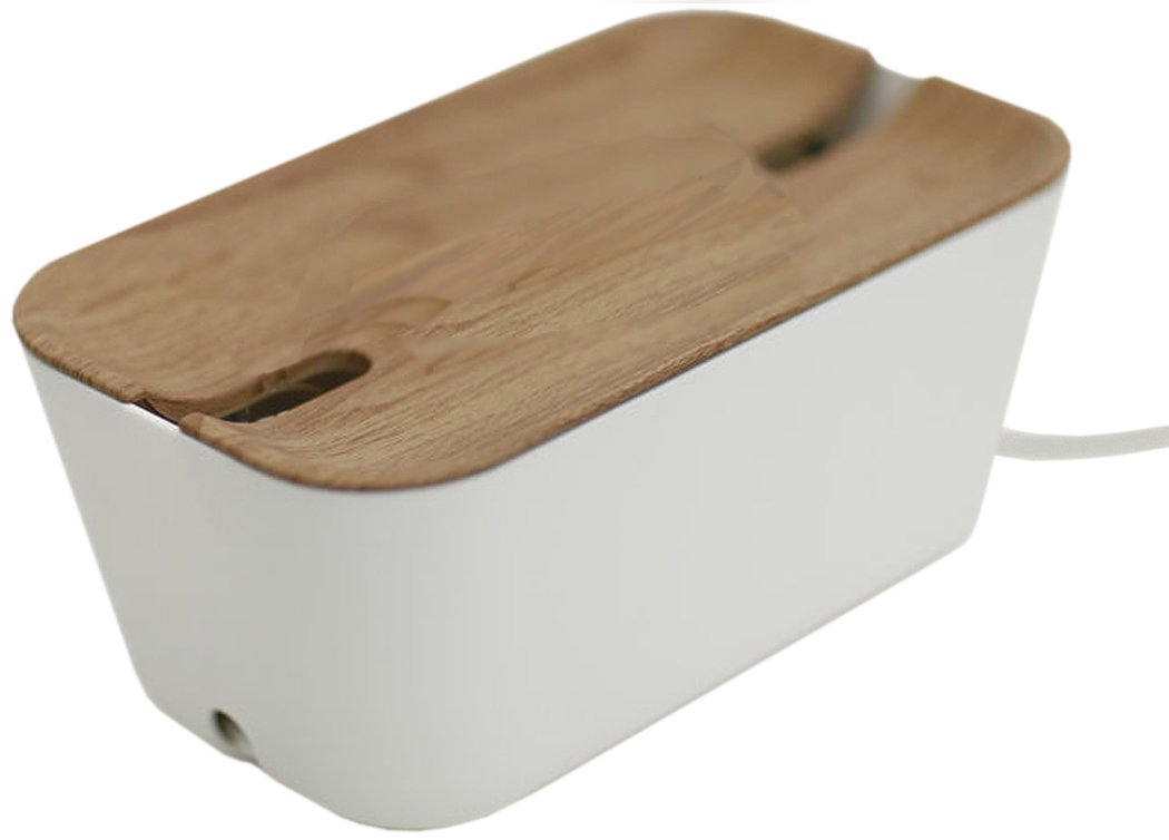 Bosign Medium Hideaway Cable Organiser in White and: Amazon.co.uk ...