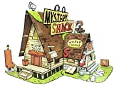 Mystery Shack from Gravity Falls - Paper Toy - DIY Paper Craft Kit - 3D Model Paper Figure from Gravity Falls