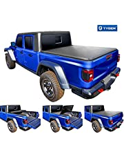 Tyger Auto Truck Bed Tonneau Cover for 2020 Jeep Gladiator (JT) | TG-BC3J1060