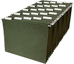 AmazonBasics Hanging Organizer File Fold...