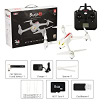 RCtown Drone with Camera and GPS Return Home Brushless Motors HD Drone 1080p Camera MJX B2C Bugs 2 Quadcopter from RCtown