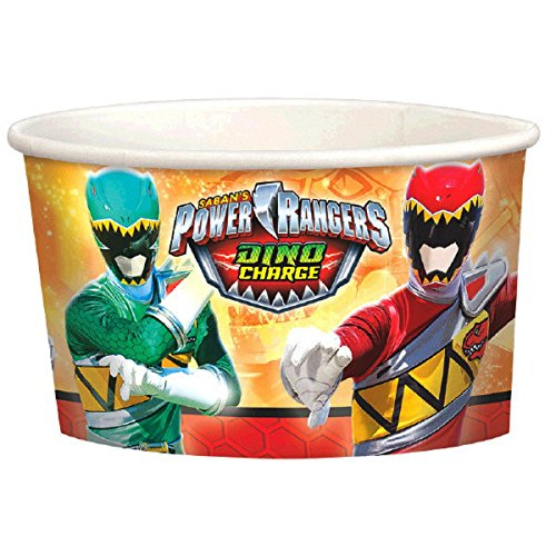Power Rangers Dino Charge 9.5oz Paper Treat Cups