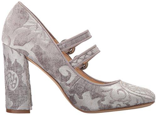 Nine West Women's Dabney Pump Light Grey Fabric 9tLfAd
