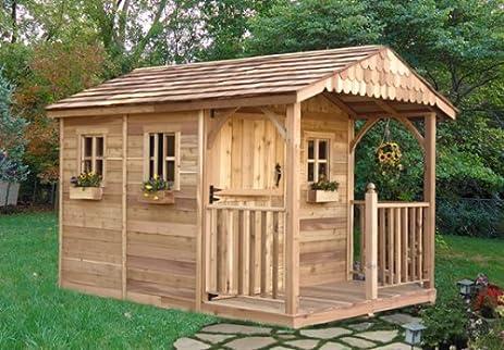 outdoor living today santa rosa 8 x 12 garden shed - Garden Sheds 8 X 12