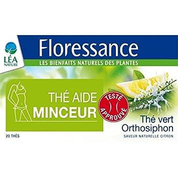 Floressance - thé aide minceur thé vert, orthosiphon 20 sachets - 30g c544d4e26a90