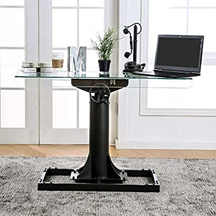 cheap for discount c0cc0 bcdbe Amazon.com: Furniture of America Ziaz Adjustable Height ...