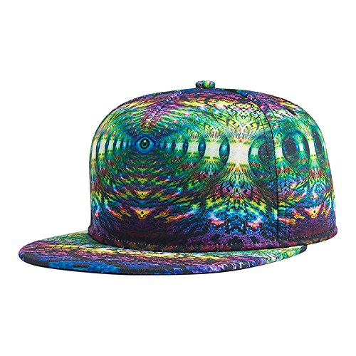 DJDesigns Custom 3D Printed Hats In Trippy Designs! (Custom Costume Design)