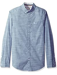 Original Penguin Men's Long Sleeve Slub End