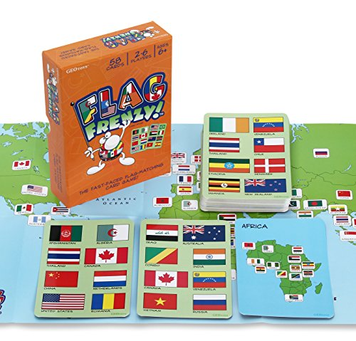 - Flag Frenzy! Educational Geography Card Game by Geotoys