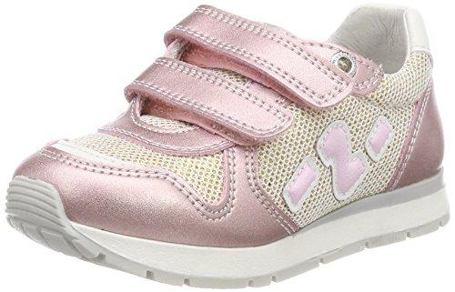 Naturino Bomba VL, Zapatillas Para Niñas Pink (Rose)