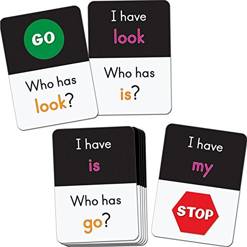 I Have, Who Has? Small Group Dolch Pre-Primer Words Card Game