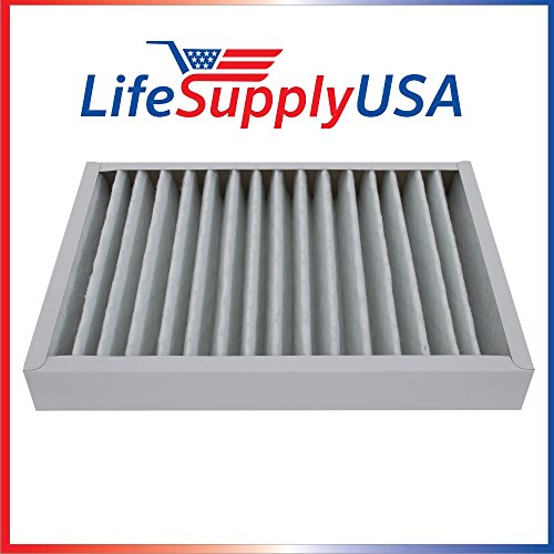 LifeSupplyUSA Filter 30928 for Hunter HEPAtech Air Purifiers 30057 3005 30067 30078 30079 & 30124 ()