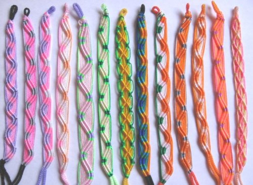Handmade FRIENDSHIP BRACELETS ~ Set of 6 ~ From PERU!
