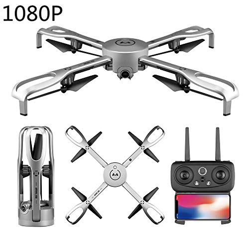 (TIAOTIAO GPS FPV RC Drone, with Camera Live Video 1080P HD and GPS Return Home Quadcopter with Adjustable Wide-Angle WiFi Camera Follow Me, Altitude Hold)