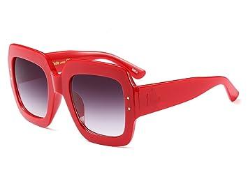 97a6c86b2c zhxinashu Oversized Cuadrado Gafas De Sol Aaviador Lujo Vintage para Mujer  Hombre Retro Grandes El Plastico Unisex Fiesta: Amazon.es: Deportes y aire  libre
