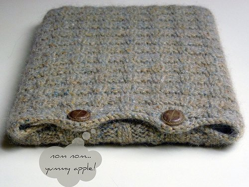 Cozy Bytes Laptop Cover Knitting Pattern Kindle Edition By