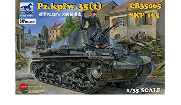 Amazon.com: Bronco 1/35 Armoured Combat Tank CB35065 35 (T ...