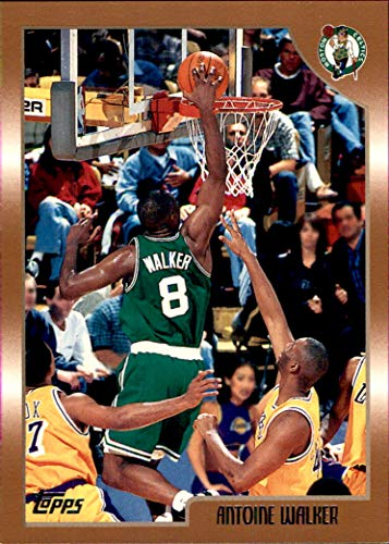 1998-99 Topps #39 Antoine Walker BOSTON CELTICS KENTUCKY WILDCATS
