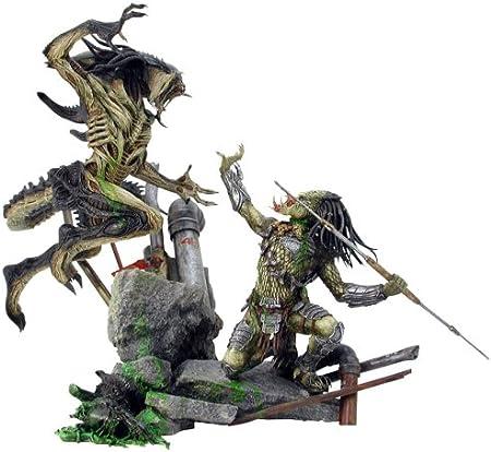 Hot Toys Diorama Masterpiece: Alien vs Predator - Predalien vs Predator: Amazon.es: Juguetes y juegos
