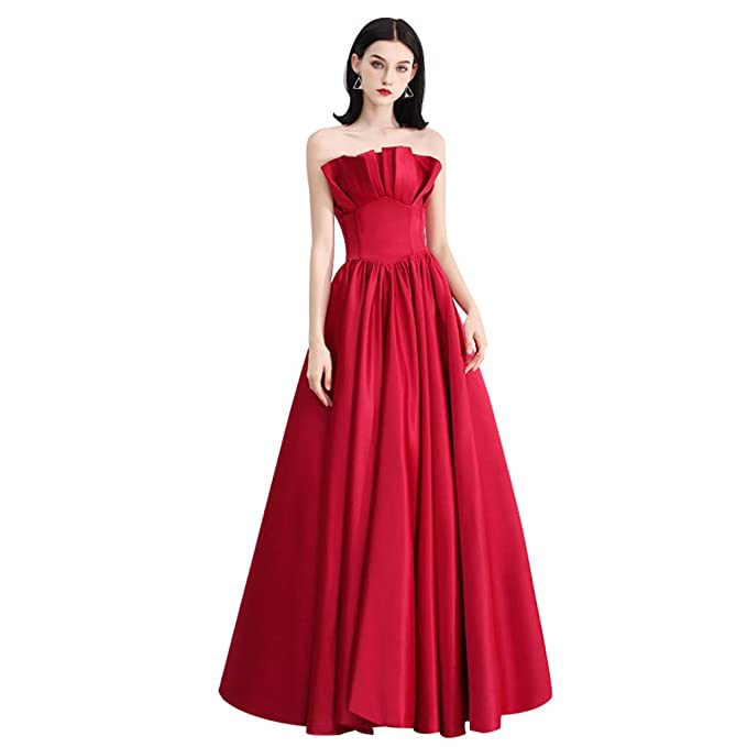 4f12b1ae86ec Abito da Sposa Damigella d Onore Elegante Abito da Sera da Donna a Forma di