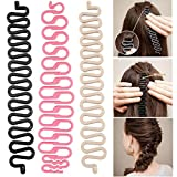 Kindsells Women Fashion Hair Styling Clip Stick Bun Maker Braid Tool...