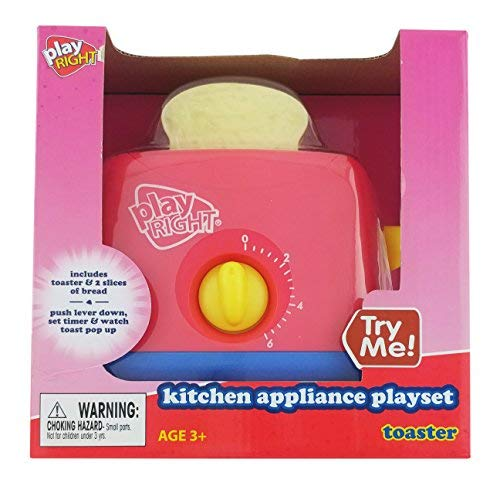 Play Right Kitchen Appliance Playset Toaster by Play Right