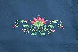 Pembrook Women\'s Embroidered Fleece Sweatsuit Set-XXL-Navy