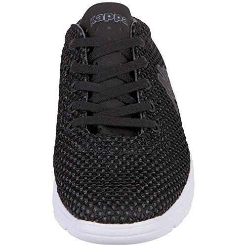Hombre Black Grey Negro para 1116 Grey Kappa Black Mocasines 1116 Croppy x0qnYFwta