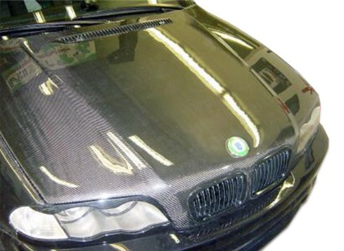 Carbon Creations Replacement for 1999-2001 BMW 3 Series E46 4DR OEM Look Hood - 1 Piece