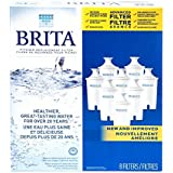 Brita Water Filter Pitcher Advanced Replacement Filters, 8 Count