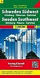 Schweden Südwest - Göteborg - Vänersee - Karlstad, Autokarte 1:250.000, Blatt 2, freytag & berndt Auto + Freizeitkarten