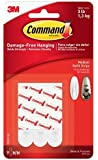 3M Command Medium Replacement Strips, 9/pk