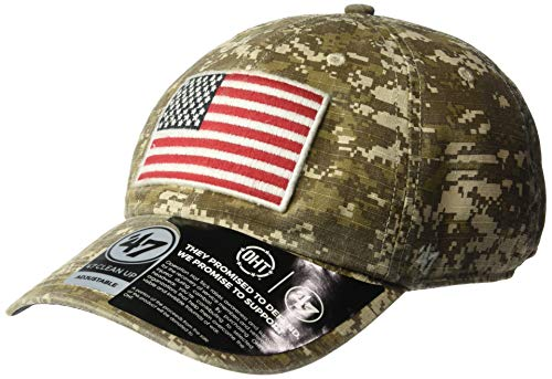 c6b28165f3cb92 '47 Operation Hat Trick Operation Hat Trick Men's Nilan Clean Up Adjustable  Hat, Marpat Digital Camo, One Size