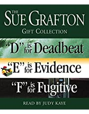 """Sue Grafton DEF Gift Collection: """"D"""" Is for Deadbeat, """"E"""" Is for Evidence, """"F"""" Is for Fugitive"""