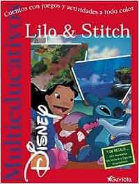 Lilo & Stitch: Cuentos con juegos y actividades a todo