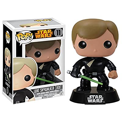 Funko POP Star Wars: Luke Skywalker Jedi Action Figure: Toys & Games