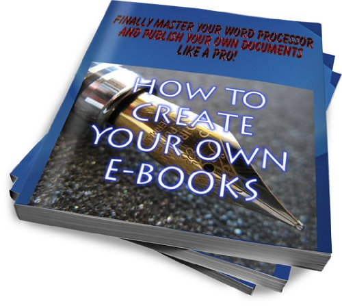 How to create your own e-books with OpenOffice / LibreOffice