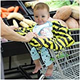 Baby Shopping Cart Seat Foldable Cover Protection
