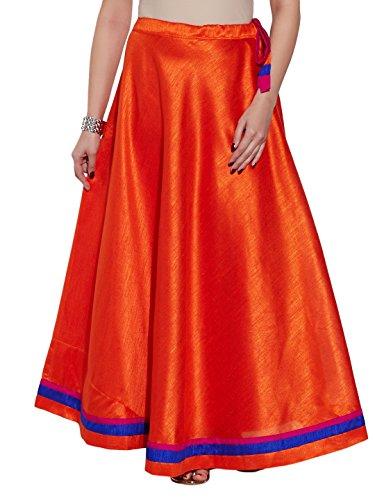 Indian Silk Skirt Dress - 1