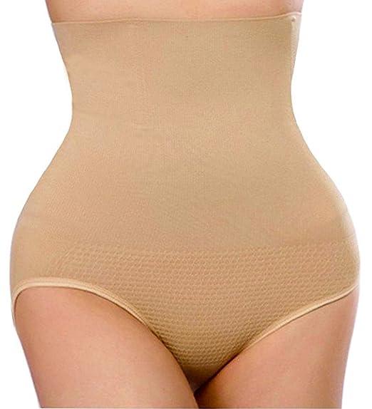 6750d8fbc5 Nebility Women Butt Lifter Shapewear Hi-Waist Tummy Slimmer Thong Panty  Seamless Body Shaper Shorts
