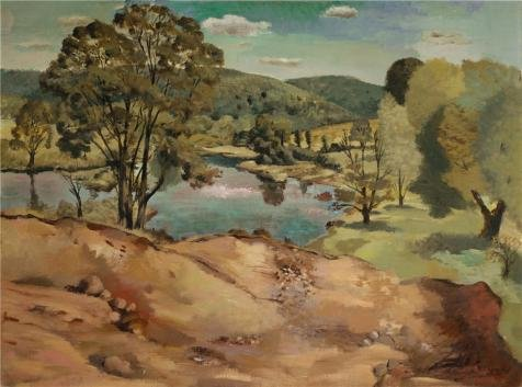 'Nicolai Cikovsky,Cranbury Lake,about 1933' Oil Painting, 8x11 Inch / 20x27 Cm ,printed On High Quality Polyster Canvas ,this Best Price Art Decorative Prints On Canvas Is Perfectly Suitalbe For Kids Room Gallery Art And Home Gallery Art And (Gladiator Costume Sword And Sheath)