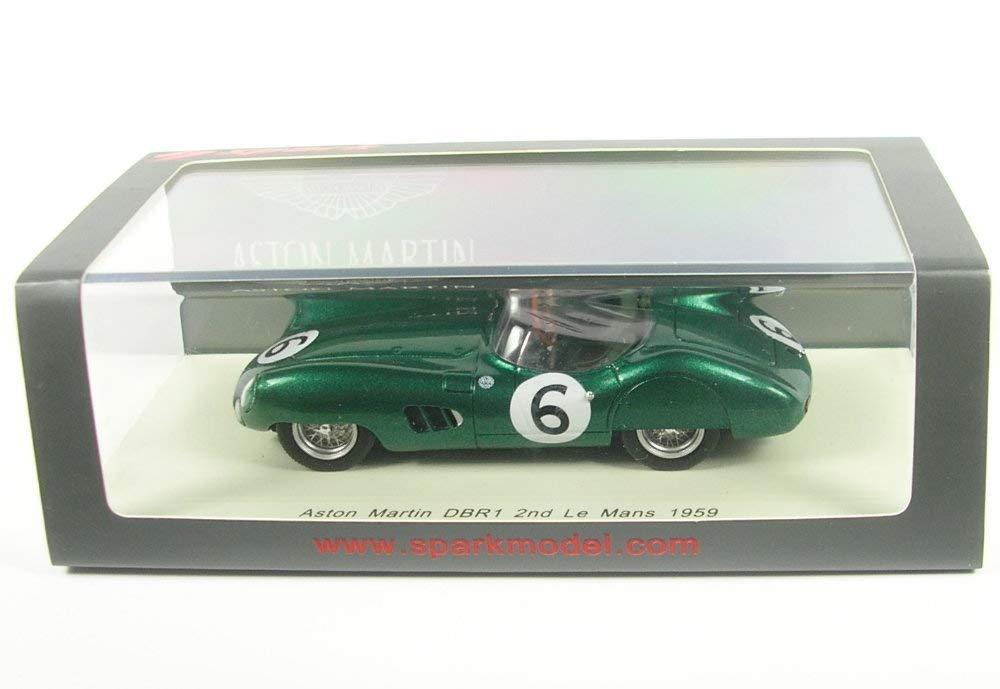 Spark Aston Martin DBR1 No.6 2nd Lemans 1959 (M. Trintignant - P. Frere)