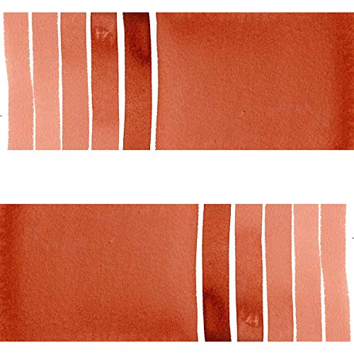 (DANIEL SMITH 284600087 Extra Fine Watercolor 15ml Paint Tube, Quinacridone, Burnt Scarlet)