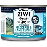 Ziwi Peak Canned Cat Mackerel & Lamb (12 Pack/1 Case), 6.5 oz