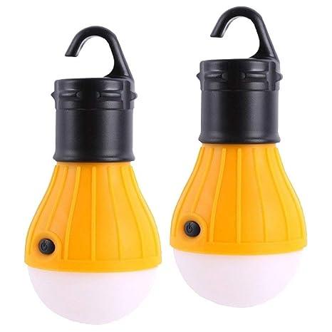 libre Senderismo USB Solar Lampara de camping 6 LED linterna Luz de emergencia