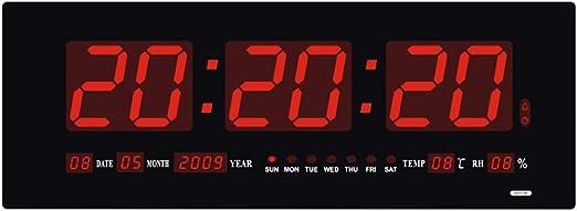 Super Brillante Reloj Digital Pared Reloj Grande De La Pared del ...