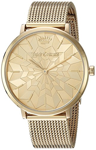 Juicy Couture Women's 'LA ULTRA SLIM' Quartz and Stainless-Steel Casual Watch, Color:Gold-Toned (Model: 1901586) (Juicy Couture Model)