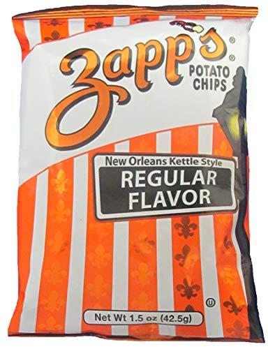 (Zapps Regular Potato Chips, 1.5 Ounce -- 30 per case.)