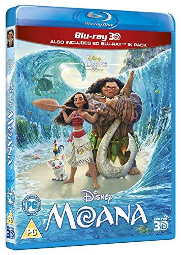 Moana [Blu-ray 3D] [2016] [Region Free]